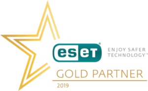 Logo Eset-Gold Partner