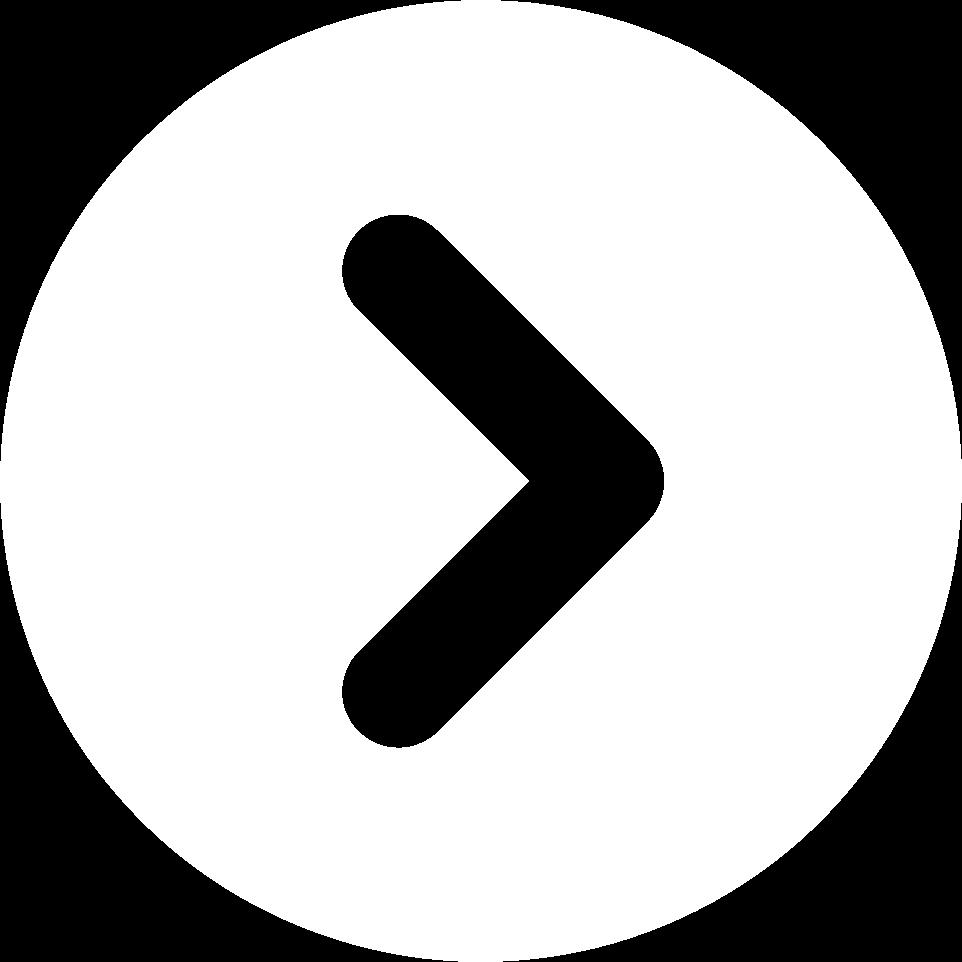 Icon Pfeil mit Kreis weiss
